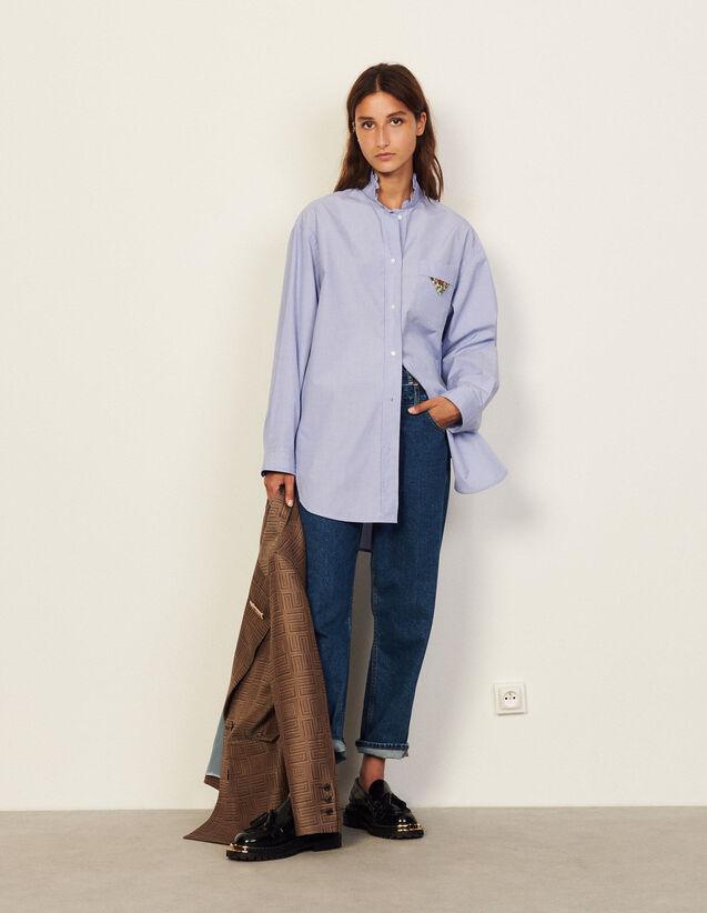 Cotton Shirt : Shirts color Sky Blue