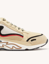 Flame Trainers : Trainers color Beige