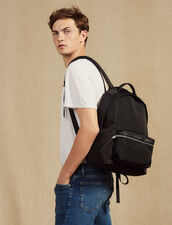Technical Material Backpack : ACCESSORIES color Black