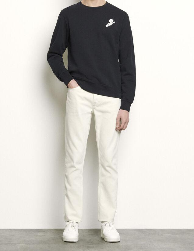 Casper Sweatshirt : Sweatshirts color Navy Blue