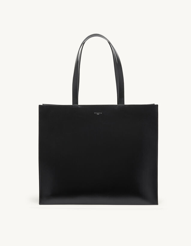 Leather Bag : Leather Goods color Black