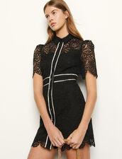 Lace Coat Dress : Dresses color Black