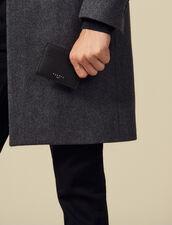 Leather Card Holder : Leather Goods color Black