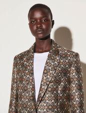 Tailored Brocade Jacket : Blazer & Jacket color Multi-Color