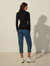 Knit Shirt : Shirts color Black
