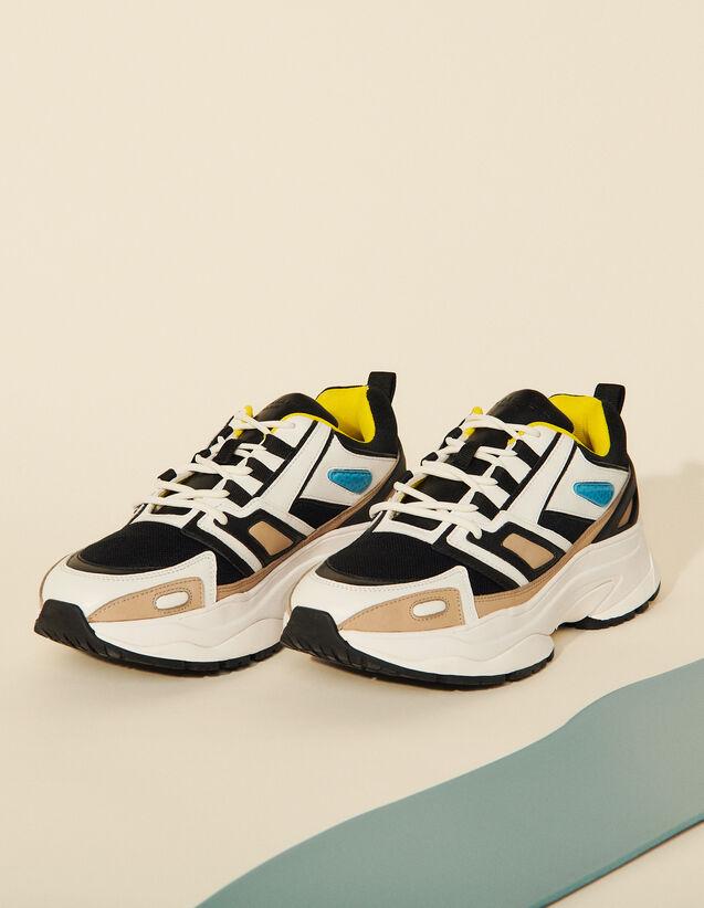 Technical Sneakers : Shoes color Yellow Lemon