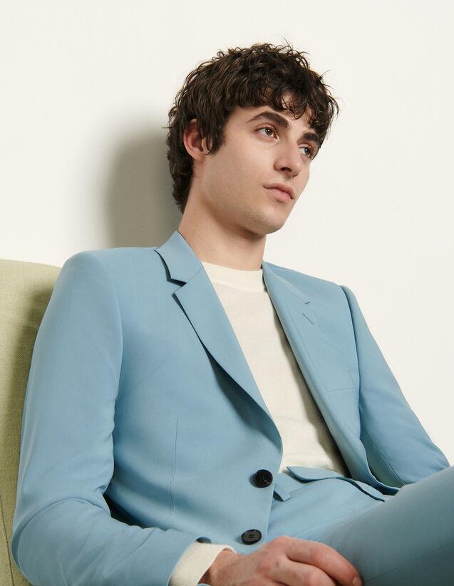 Stretch Suit Jacket : Suits & Tuxedos color Light Blue