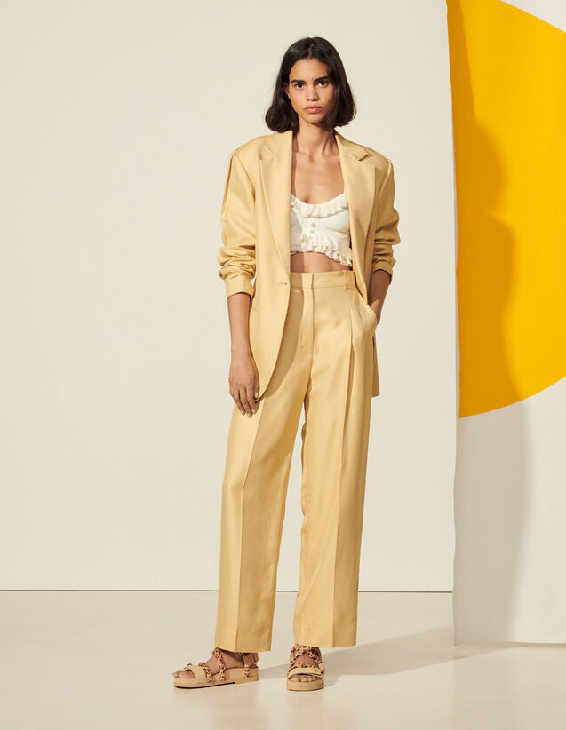 Classic Trousers : View All color Straw