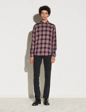 Checked Shirt : Best Of The Season color Navy Blue
