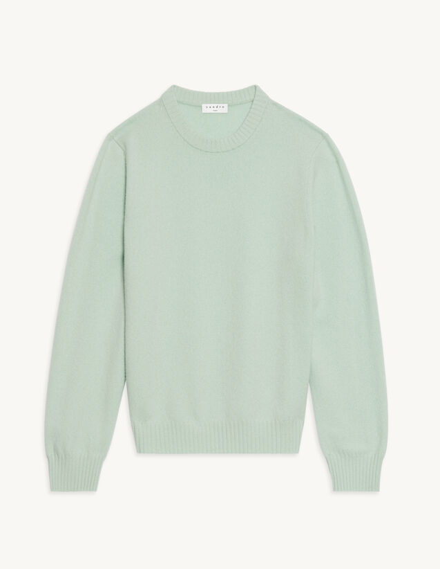 Cashmere Sweater : Sweaters & Cardigans color Light Green