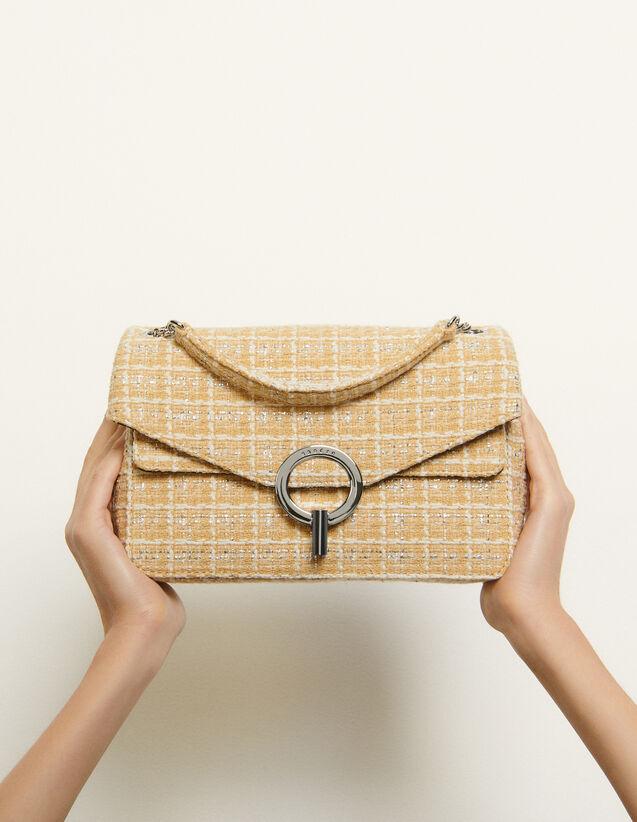 Tweed Yza Bag : My Yza bag color Beige