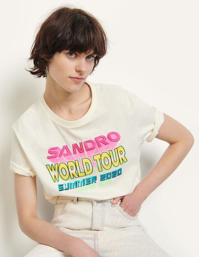 Slogan T-Shirt : T-shirts color Shell