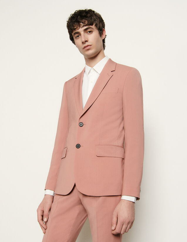 Cool Wool Suit Jacket : Suits & Tuxedos color Pink