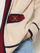 Cable Knit Cardigan : Sweaters & Cardigans color Beige