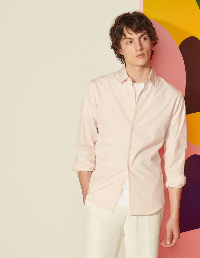 Formal Shirt In Egyptian Cotton : Shirts color Light Pink