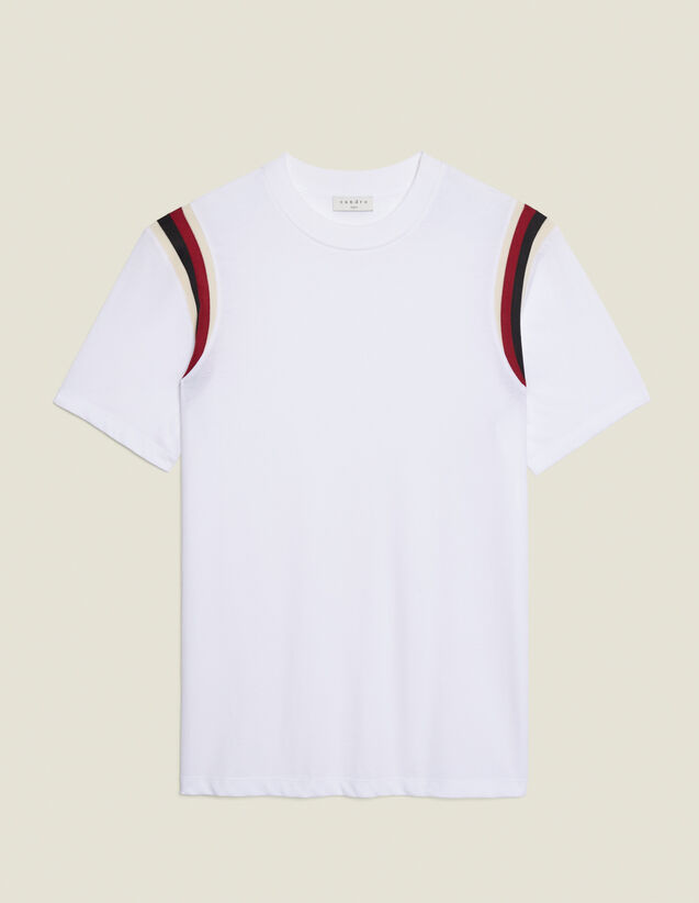 Organic Cotton T-Shirt : T-shirts & Polo shirts color white