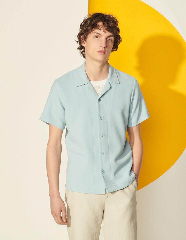Short-Sleeved Shirt : null color Ecru