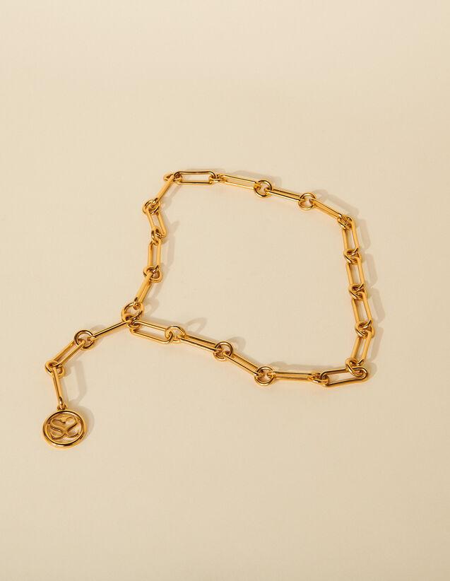 Adjustable Chain Belt : Belts color Gold