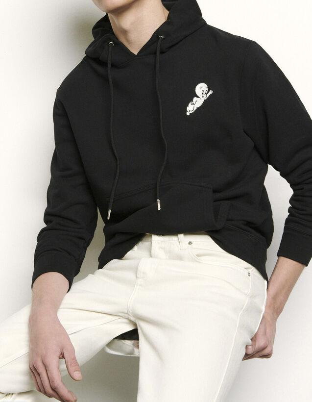 Casper Hoodie : Sweatshirts color Black