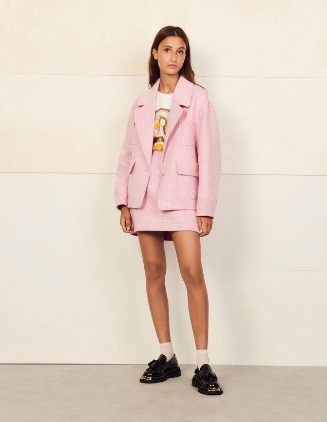 Oversized Wool Blazer : Blazer & Jacket color Beige