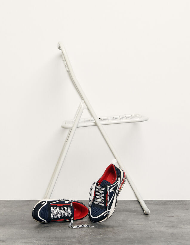 Flame Trainers : Trainers color Dark Navy