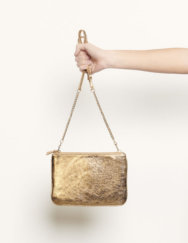 Addict Pouch : My Addict Bag color Full Gold