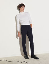 Jersey Trousers : Pants & Shorts color Navy Blue