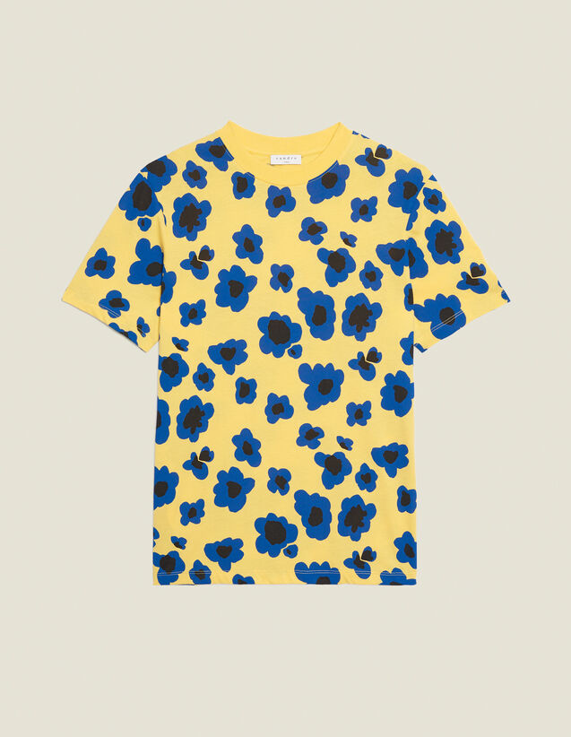 Printed T-Shirt : T-shirts & Polo shirts color Yellow