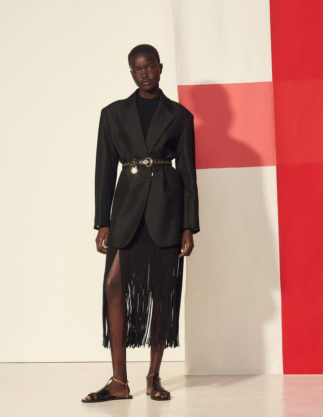 Tailored Jacket : Blazer & Jacket color Black