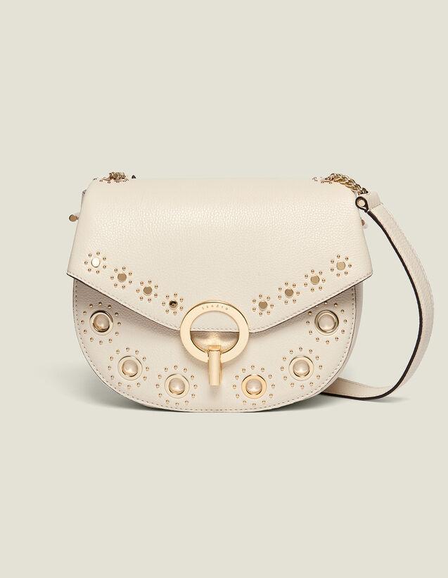 Pépita Bag, Medium Model With Studs : My Pepita bag color Black