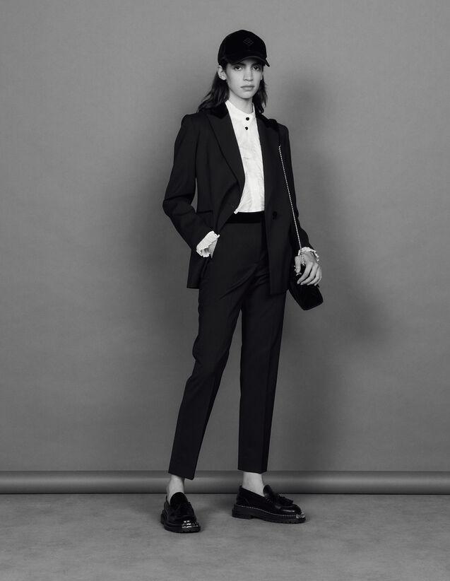 Classic Trousers : Pants color Black