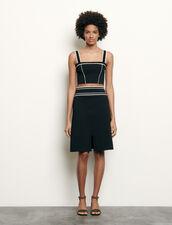 Short Knit Skirt : Skirts & Shorts color Black
