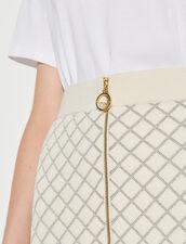 A-Line Knit Skirt : Skirts & Shorts color Ecru