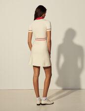 Polo Dress : Dresses color Ecru