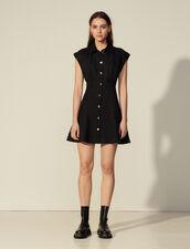 Short Sleeveless Dress : Dresses color Black