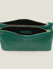 Addict Clutch : My Addict Bag color Green