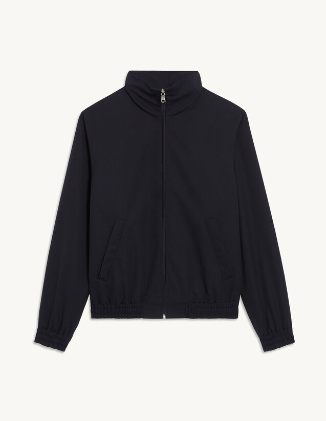 Zip-Up Jacket : Suits & Tuxedos color Navy Blue