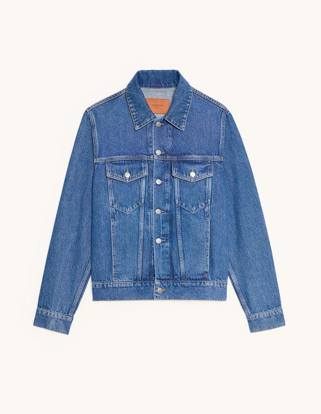 Denim Jacket : Coats & Jackets color Blue Vintage - Denim