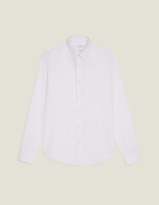 Non-Iron Shirt : Shirts color white