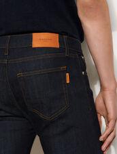 Raw Denim Skinny Jeans : Jeans color Raw-Denim