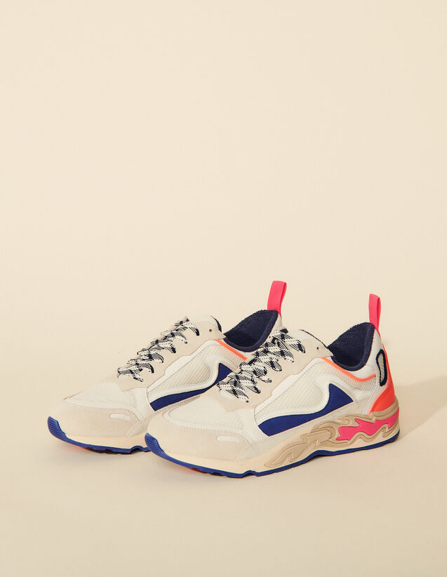 Flame Sneakers : Trainers color Indigo