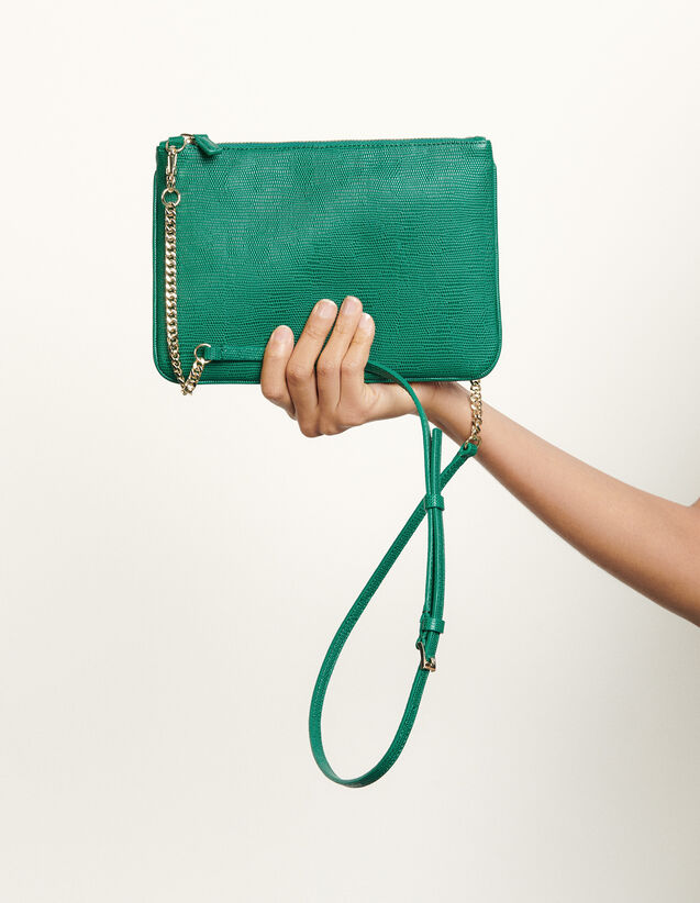 Addict Clutch : My Addict Bag color Green