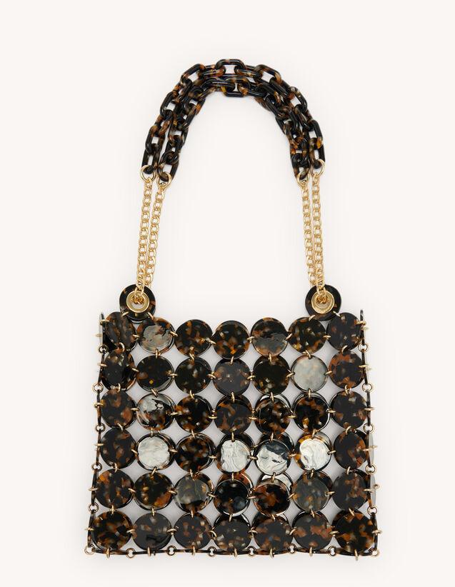 Pastille Bag, Large Model : My Pepita bag color Leopard