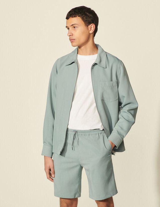 Wool Shorts : Pants & Shorts color Storm