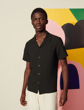 Short-Sleeved Shirt : Spring Summer Collection color Black