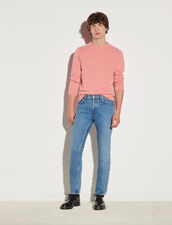 Faded Blue Jeans : Jeans color Blue Vintage - Denim