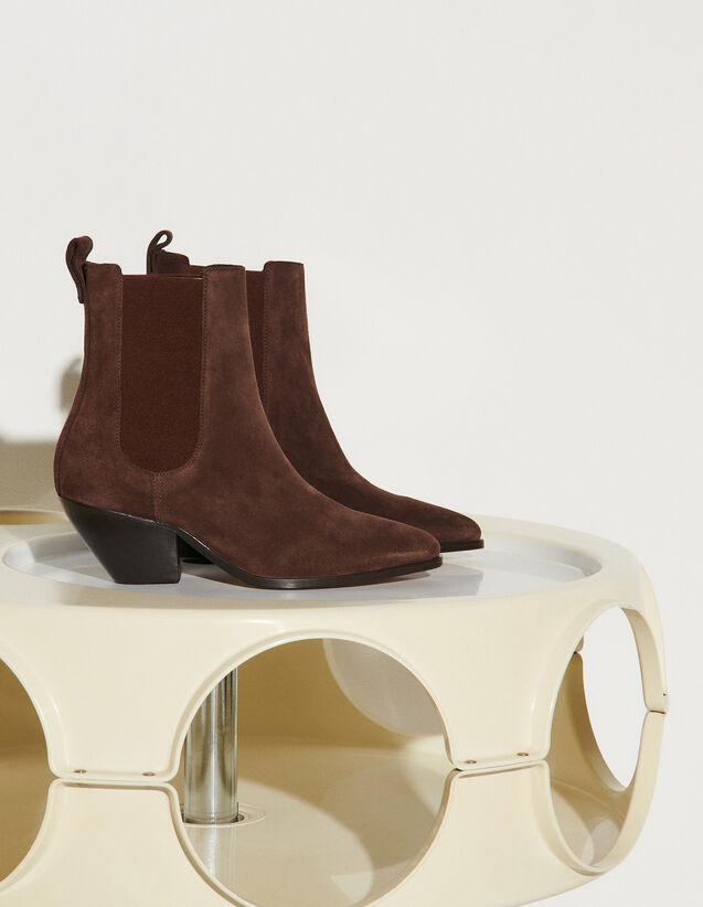 Cowboy Style Boots : Boots color Black Brown