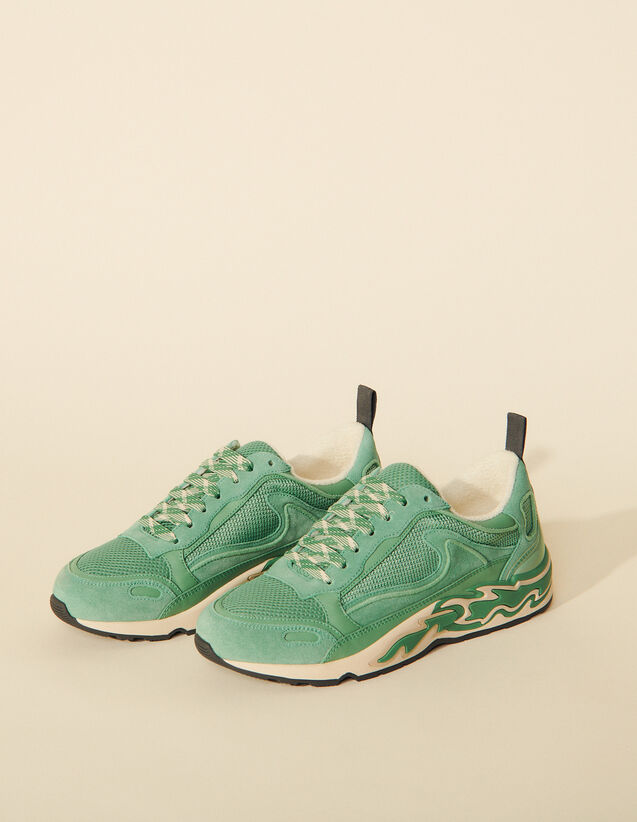 Flame Trainers : Trainers color Mint