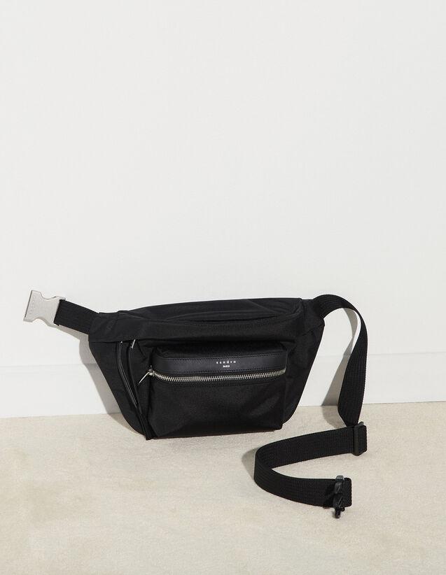 Nylon Belt Bag : Bags color Black