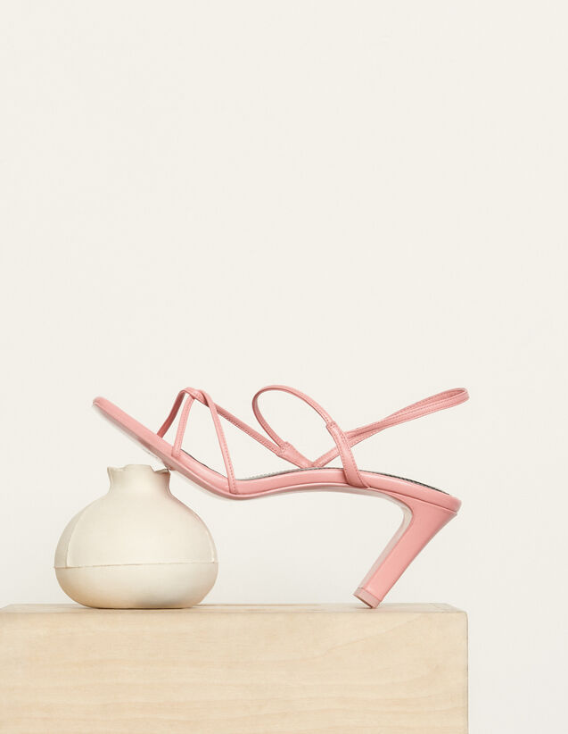 Sandals With Narrow Straps : Shoes color Malabar